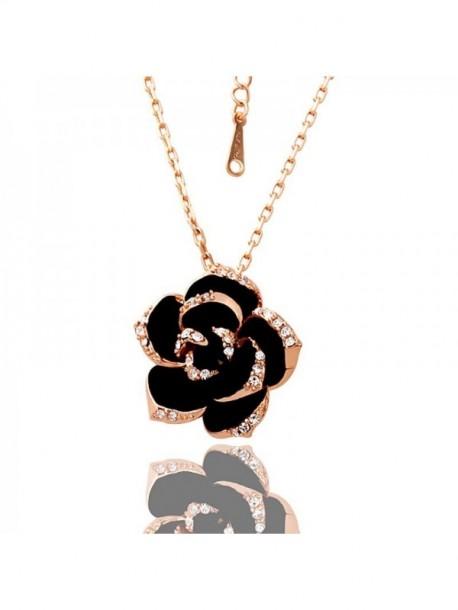 Colier Golden rose