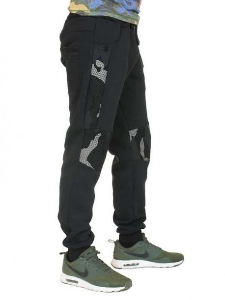 Pantaloni de trening de barbati - negri
