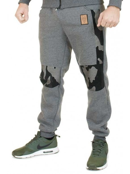Pantaloni de trening de barbati - gri inchis