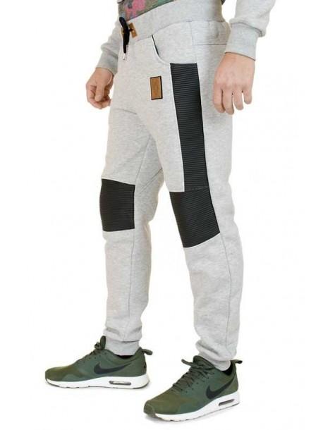 Pantaloni de trening de barbati - gri