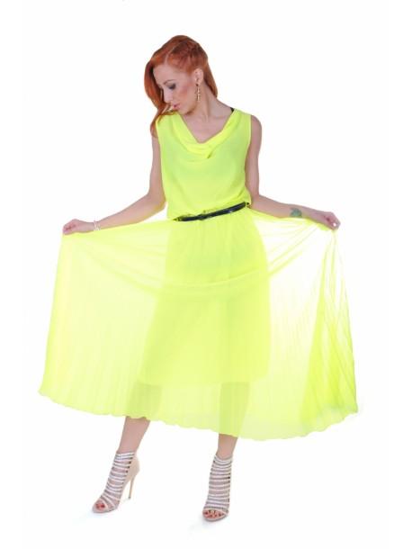 Rochie lunga Yellow
