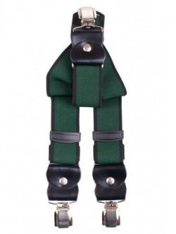 Bretele elegante de barbati - verzi