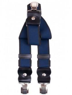 Bretele elegante de barbati - albastri