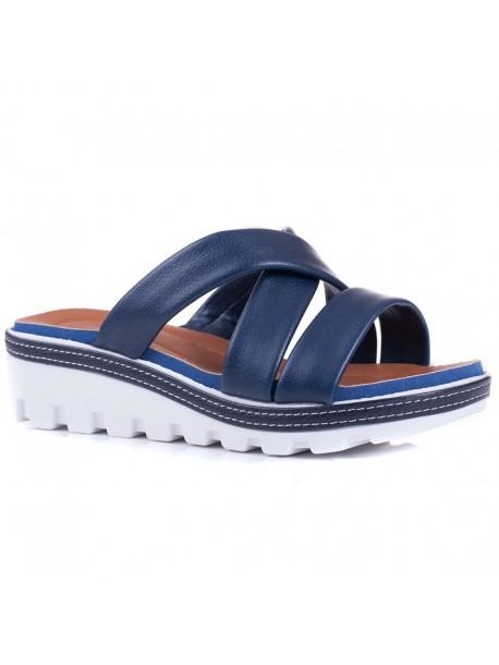 Papuci Florida albastru inchis