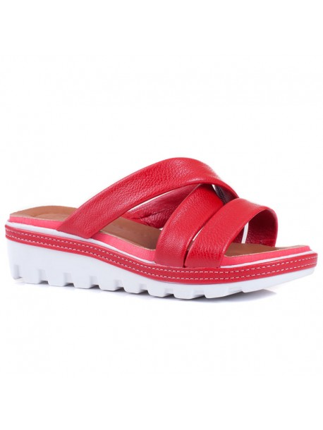 Papuci Florida rosu
