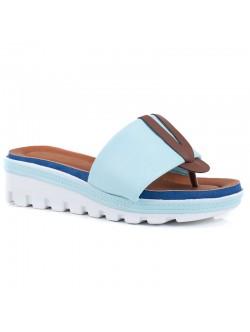 Papuci de dama cu talpa ortopedica Klarisa kaki