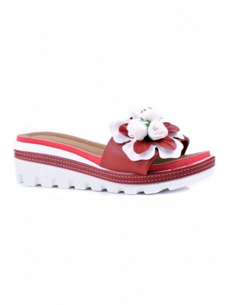 Papuci Rali in culoare rosie