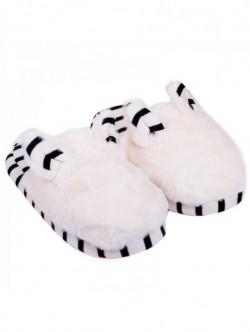 Papuci de casa Маus - albi