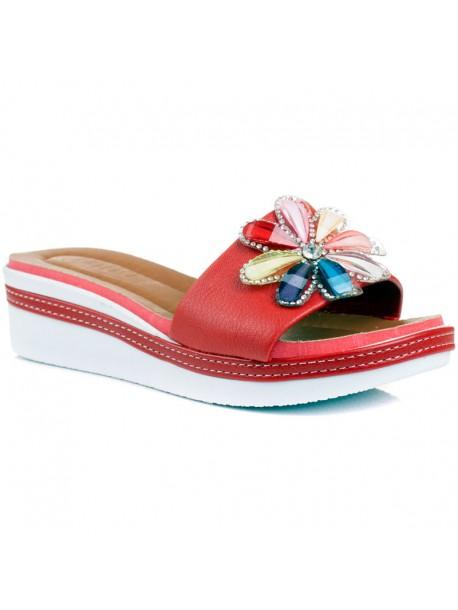 Papuci rosi Zoya