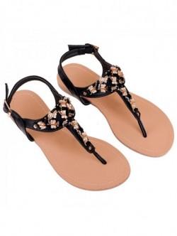Sandale joase cu pietricele