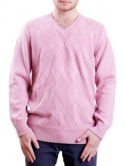 Pulover de barbati - roz