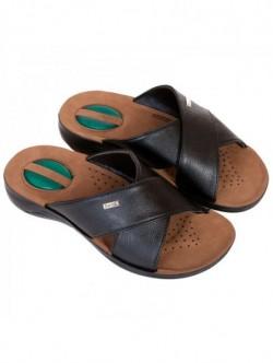 Papuci negri de barbati