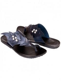Papuci albastri Leni