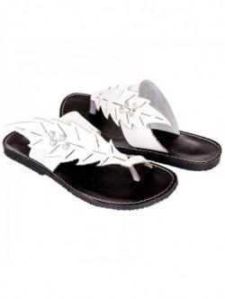 Papuci albi Leni