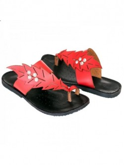 Papuci rosii Leni