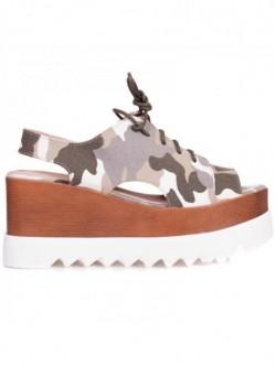 Sandale de dama - camuflaj
