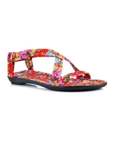 Sandale de dama Andi culoarea rosie