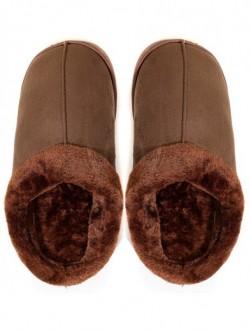 Papuci de casa pentru barbati - maro