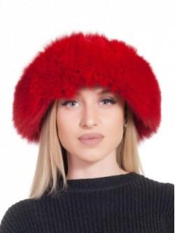 Caciula pentru femei - rosie