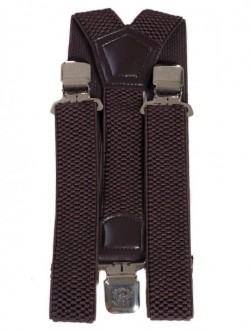 Bretele de lux - maro