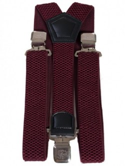 Bretele de lux - visiniu