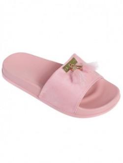 Papuci de dama cu puf - pudra
