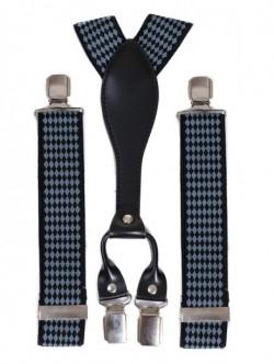 Bretele bleumarin inchis pentru pantaloni