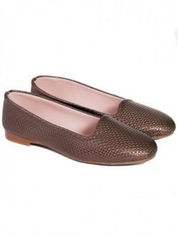 Pantofi fara toc - maro