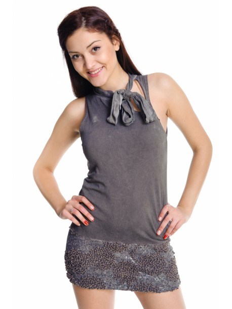 Rochie Stela grey