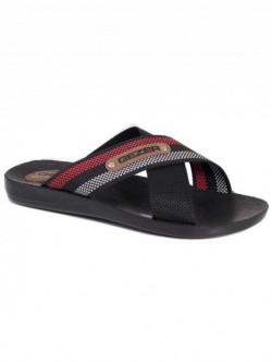 Papuci pentru barbati Gezer- negru cu rosu