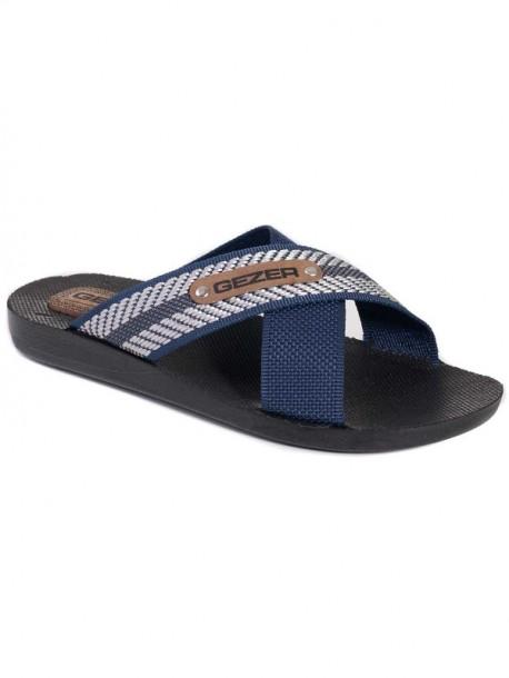 Pantofi pentru bărbați Gezer albastru și argintiu