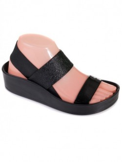 Sandale pentru femei cu benzi negre