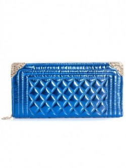Geanta - portofel albastru