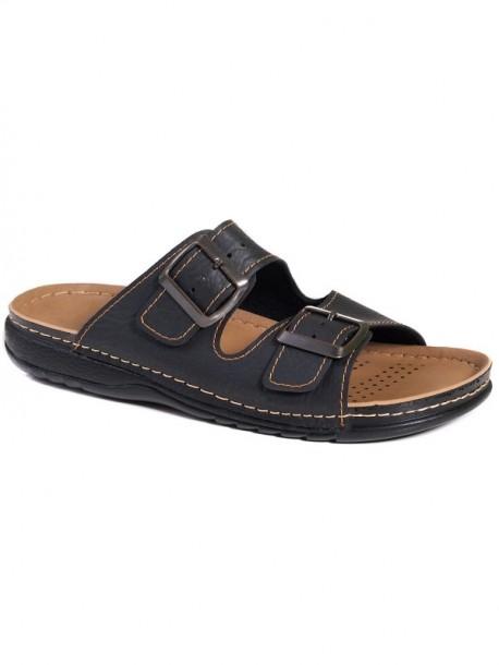 Papuci de barbati cu doua catarame
