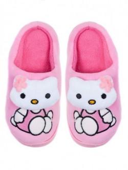 Papuci de uz casnic pentru copii - roz