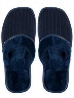 Papuci de uz casnic pentru barbati - albastri