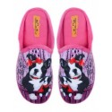 Papuci de uz casnic pentru doamne - roz