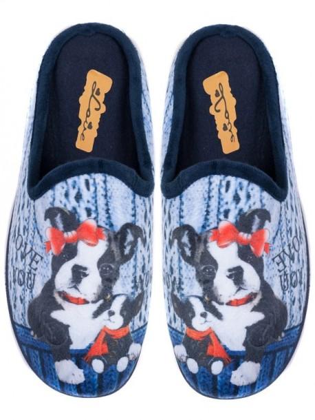 Papuci pentru femei - albastri 3281