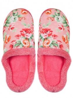 Papuci de casa pentru doamne - roz