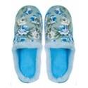 Papuci de casa pentru doamne – albastru deschis