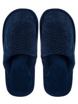 Pantofi de casa pentru barbati - culoare albastri