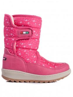 Cizme de iarna copii - culoare roz