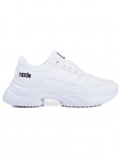 Adidasi de dama Texin - culoare alb