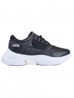 Adidasi de dama Texin - culoare negru