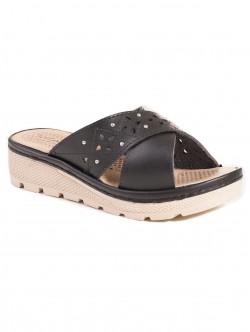 Papuci de dama - culoare negru