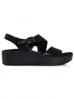Sandale anatomice de damă, culoare neagră
