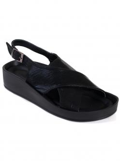 Sandale comode de damă, culoare neagră