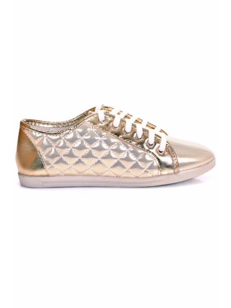Pantofi aurii Tony