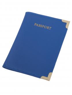 Etui pentru pașaport, culoare albastră