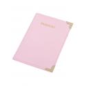 Etui pentru pașaport, culoare roz